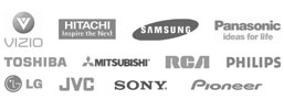 Servicing Major Brands of TV